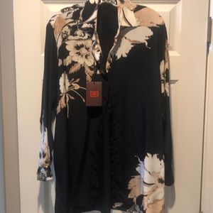 Etro floral blouse or tunic. Made in Italy NEW NWT